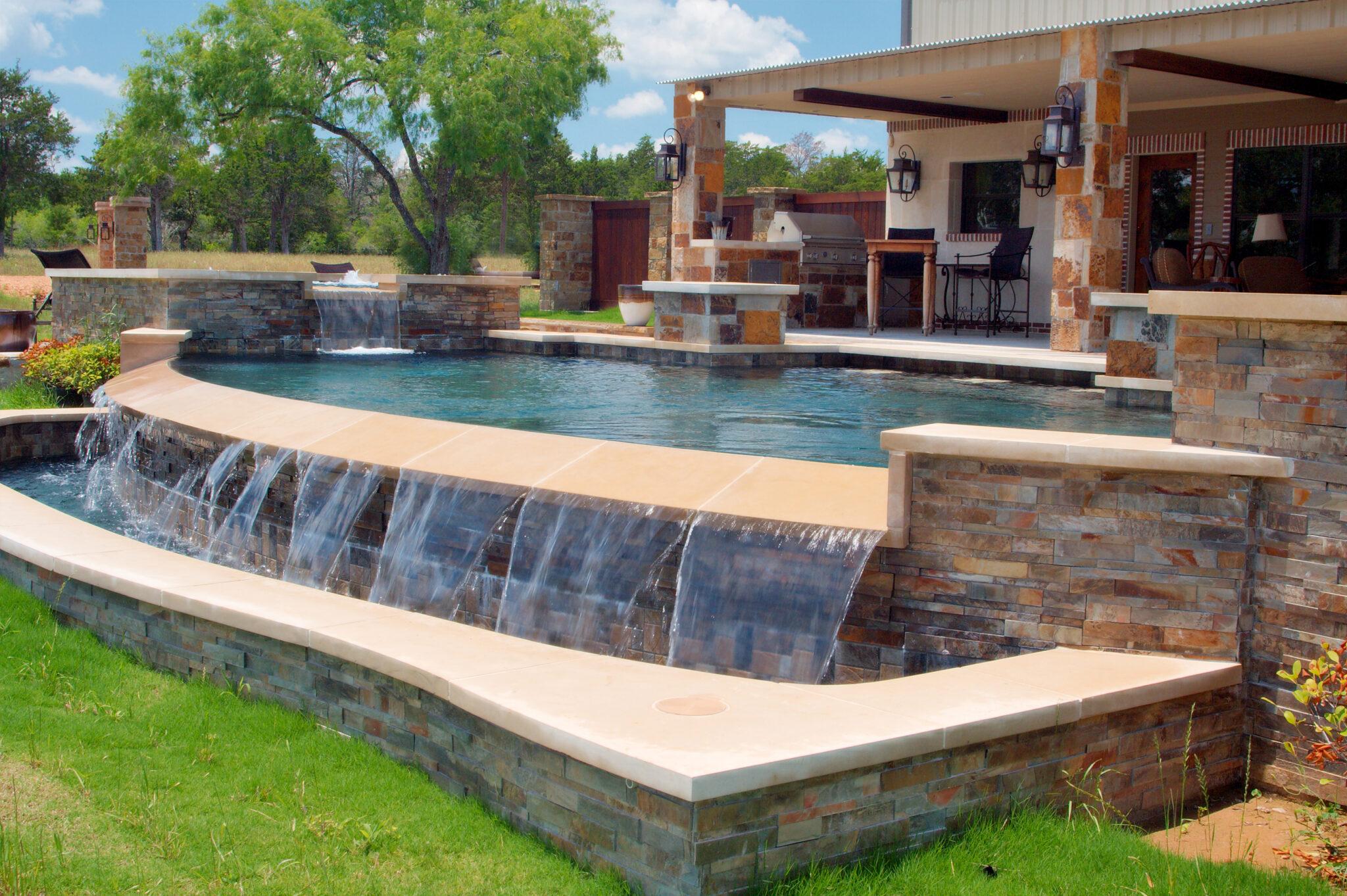 Vanishing Edge Pool Designs By Cody Pools Austin Houston