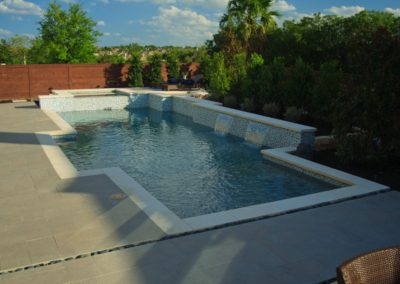 Geometric Pool Designs. Baessler