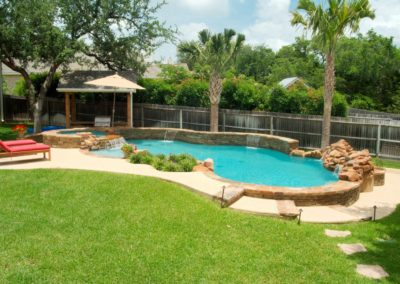 Freeform Pool by San Antono Pool Builder Cody Pools