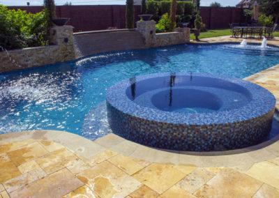 Geometric Pool Design in Houston