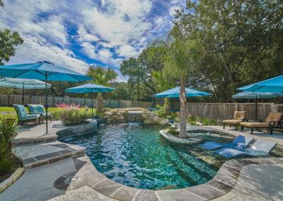 Houston Free Form Pool Design