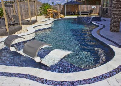Freeform Pool Design in Houston