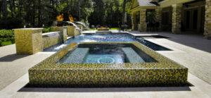 Houston Geometric Pool Design