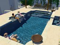 3-D Pool Design