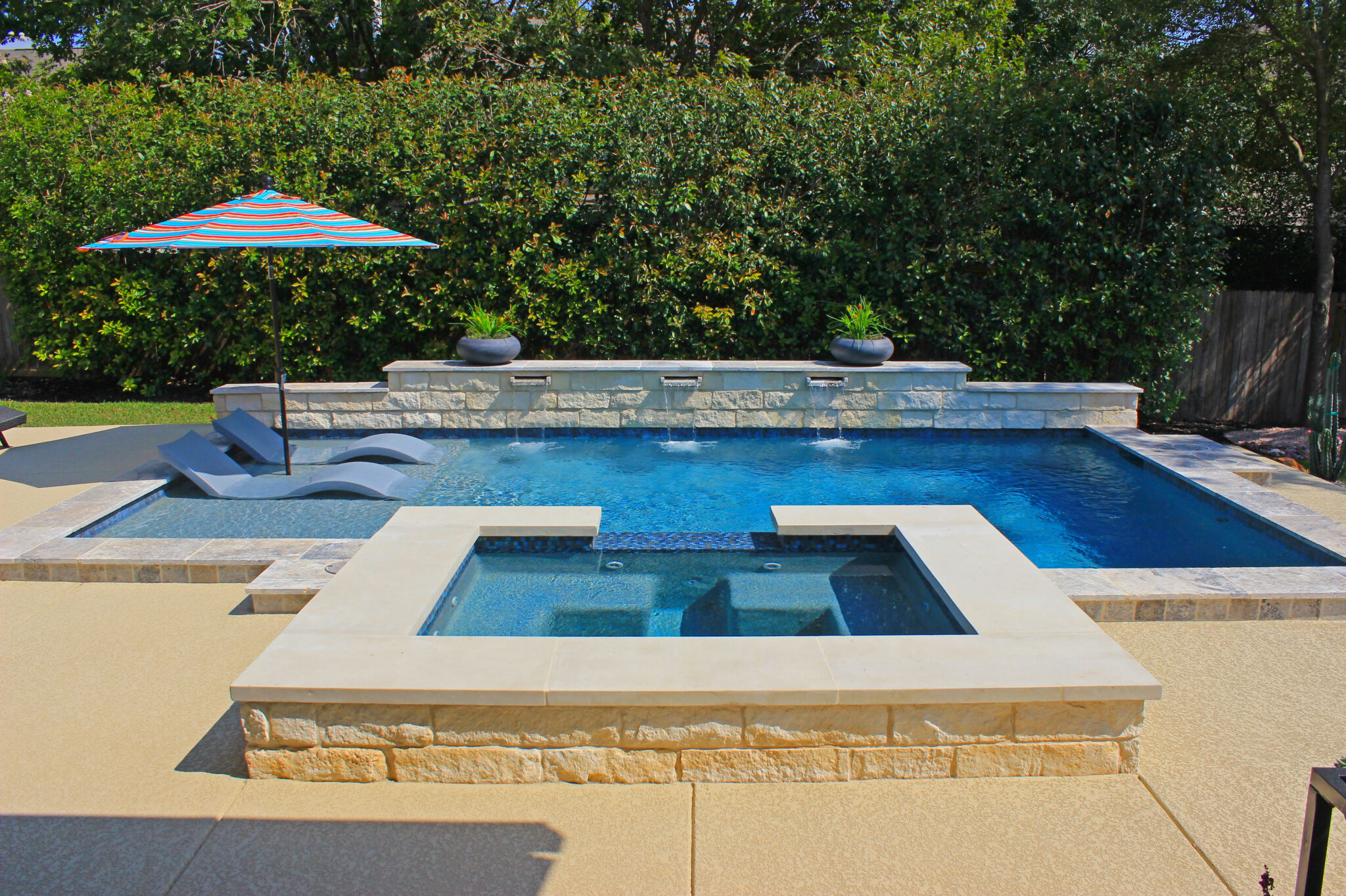 Geometric Pool Designs by Cody Pools Austin Houston and San Antonio